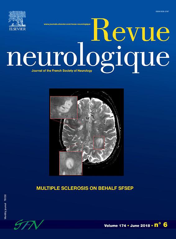 Revue Neurologique Juin 2018